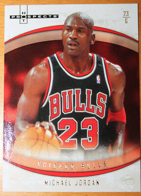 2007-08 Fleer Hot Prospects Michael Jordan Base No.23