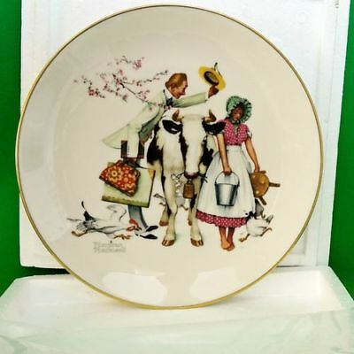 Norman Rockwell Collectors Plate 1977 First Edition - The Traveling Salesman