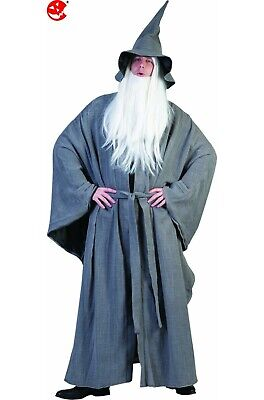 Costume uomo druido utile per fare Gandalf o celtico NON INCLUDE BARBA