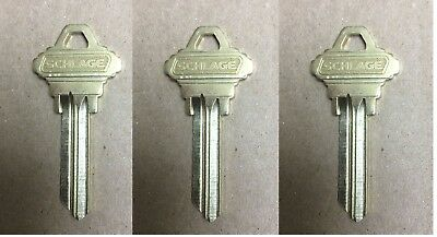 Schlage Primus Level 1 Key Blank- 005325 LOT OF 3
