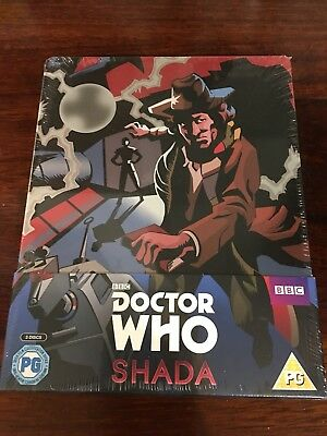 DOCTOR WHO SHADA - 3 Disc Ltd Edition Region Free Blu-ray Steelbook NEW & SEALED