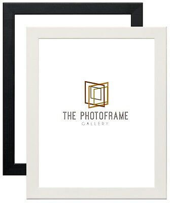 All Sizes Black And White Wood Effect Poster Picture Frames A1 A2 A3 A4 36X24