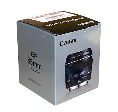 BRAND NEW Canon EF 85mm f/1.8 USM Lens in Box - USA 2519A003