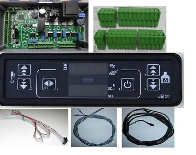 KIT CENTRALINA DISPLAY led SONDE CONNETTORI CAVO FLAT TUTTO