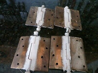 Antique door hinges, set of 4.