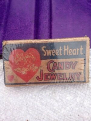 Antique Sweet Heart Candy Jewelry