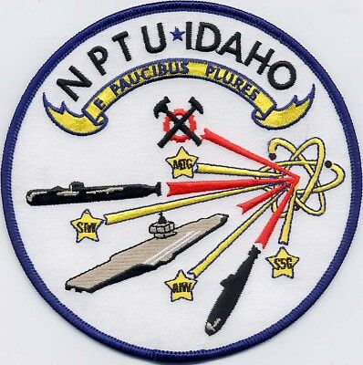 NPTU Idaho - Nuc School - BC Patch - US Navy - Cat No. C6046