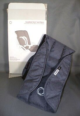 NEW Bugaboo Bee5 Seat Fabric Seat Cover ~  Blue Melange