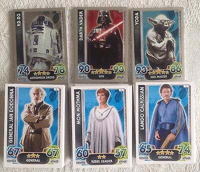 Star Wars Force Attax 100 Cards Including Holos