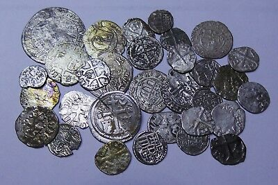 European Medieval Silver Coins (1235-1584) LOT - 31 pieces SEE PICTURE!!