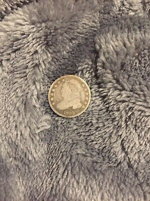 1835 H10C Small Date Small 5C Capped Bust Half Dime (Good Condition)