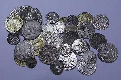 European Medieval Silver Coins (1342-1698) LOT - 28 pieces SEE PICTURE!!