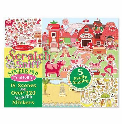 Melissa and Doug Scratch & Sniff Sticker Pad - Fruitville
