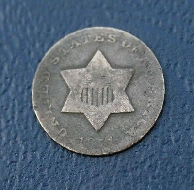 1851 THREE CENT SILVER  *GOOD to VG DETAILS*   *NICE*