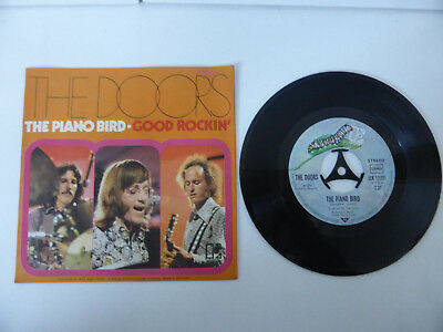 "7"" Single, The Doors, The Piano Bird, GER 1972."