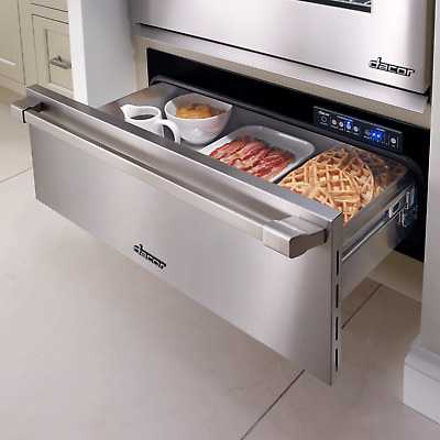 "Dacor Renaissance 30"" Stainless Steel Electric 500 Watt Warming Drawer ERWD30B"