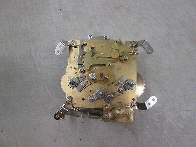 """Hermle Westminster Chime Mantel Clock Movement 340-020 for parts or repairs """"B"""""""