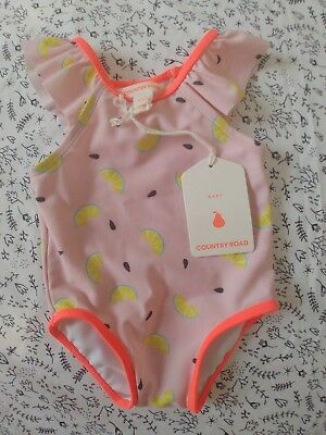 BNWT Country Road Baby Girl swimsuit 000