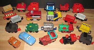 fisher price geotrax manual push train yellow red street trolley rh picclick com Fisher-Price GeoTrax Train Set Fisher-Price GeoTrax Buildings