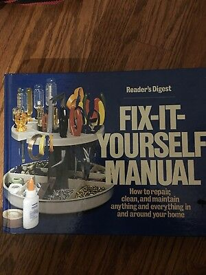 Book/Readers Digest Fix-It-Yourself Manual