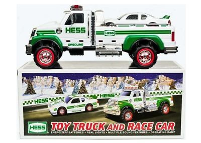 Hess* 2011* Toy* Truck* And Race* Car* Mib*