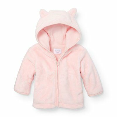 The Children's Place Baby Sleep 'N Play Romper, Baby Pink 90193, 6-9 Months