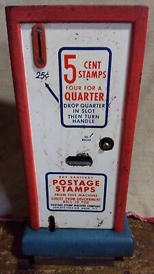 Vintage 5-Cent Stamp Machine