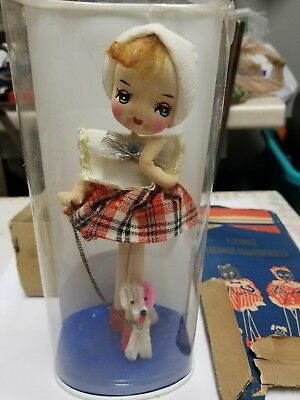 Unopened NOS 1960s Sarco MOP PETS Vintage Teen Mod Bunny Doll Bendable Posable