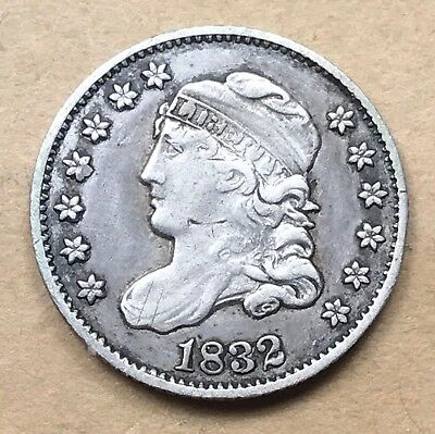 1832 Capped Bust Half Dime VF/XF