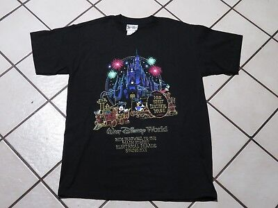 Vintage VTG Walt Disney Land Main Street Electrical Parade 2001 Rare Size Small