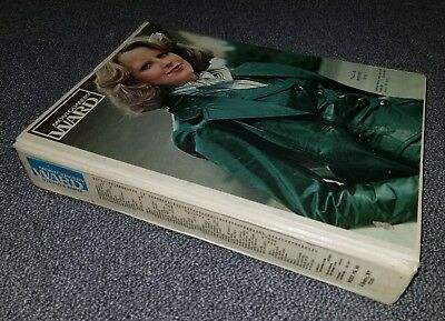 Fall Winter 1976 Montgomery Ward catalog hardcover book - Huge, with color!