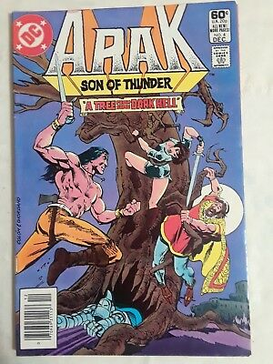 Arak / Son of Thunder #4 (Dec 1981, DC) and #5 Jan 1982