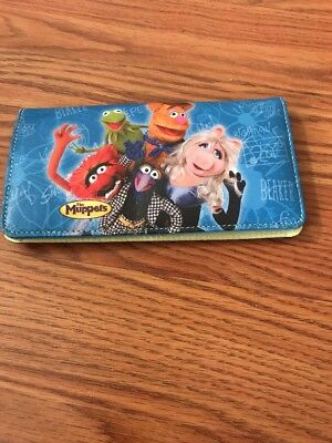 Muppets Checkbook Cover - NEW - Free Shipping!