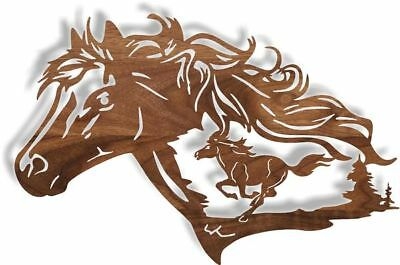 DXF CNC dxf for Plasma Horse Dreams Man Cave Home Wall Art Craft Show
