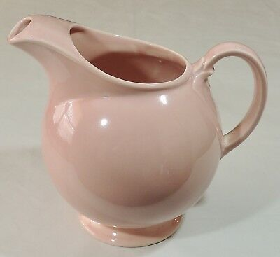 T.S.&T. Taylor Smith Taylor LuRay Pastels Pink Ice Lip Pitcher EUC