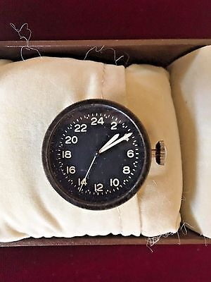 Very hard to find!  Norden bombsight-Tiny ElginTiming Clock- unique offering.