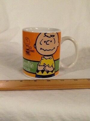 2011 Gibson CHARLIE BROWN Celebrate PEANUTS 60 Years Collectible Coffee Mug Cup
