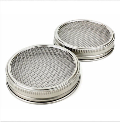 Hot 20inch Silver Stainless Steel Strainer Filter Net For Sprouting Lids 2018
