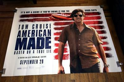 AMERICAN MADE 5ft SUBWAY MOVIE POSTER 2017 TOM CRUISE