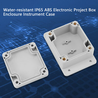IP65/IP66 Plastic Dustproof Case Electronic Wire Junction Box Enclosure Case ams