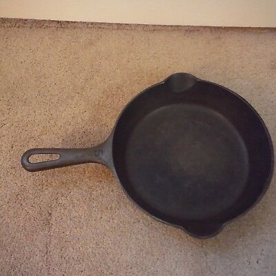 "Vintage Griswold Cast Iron Skillet ""small logo"" No. 5 724M ""Great Condition"""