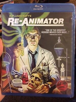 H.P. Lovecraft's Re-Animator (Blu-ray Disc, 2012) NEW!