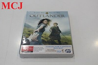 Brand New - Outlander Season 1 Volume 1 Collector's Edition Blu-ray Region Free