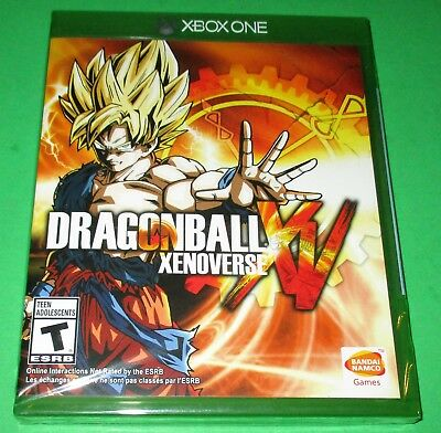 Dragon Ball XenoVerse Xbox One *New! *Factory Sealed! *Free Shipping!