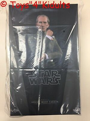 Hot Toys MMS 433 Star Wars New Hope Grand Moff Tarkin Peter Cushing Figure NEW