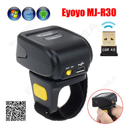 Wireless BTOOTH Barcode Scanner 2D QR Code Reader For IOS Android Windows 7/8