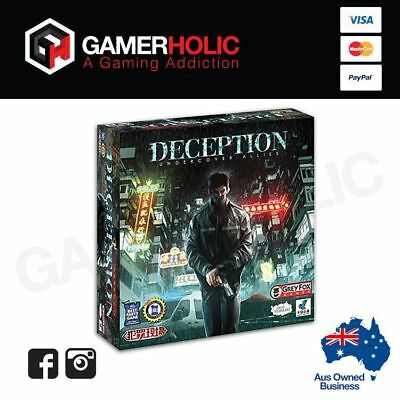 Deception Under Cover Allies Board Game Brand New