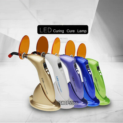Colorful Dental Wireless Cordless LED Curing Lamp Light Woodpecker Style CL-B
