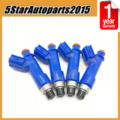 4PCS 23250-21040 Fuel Injector for Toyota Yaris 2007-2017 1.5L Corolla Auris