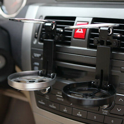 Car Auto Air Vent Outlet Beverage Holder Bottle Drink Mount Water Cup Stand Kit
